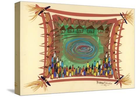 Bridge across Time, 2005-Oglafa Ebitari Perrin-Stretched Canvas Print