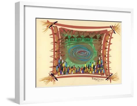 Bridge across Time, 2005-Oglafa Ebitari Perrin-Framed Art Print