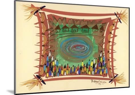 Bridge across Time, 2005-Oglafa Ebitari Perrin-Mounted Giclee Print