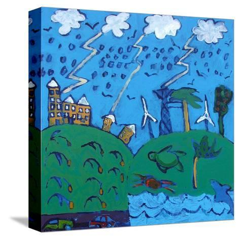 Global Warming-Paul Powis-Stretched Canvas Print