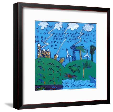 Global Warming-Paul Powis-Framed Art Print