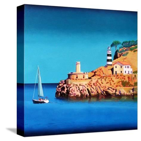 Port Soller 2-Paul Powis-Stretched Canvas Print