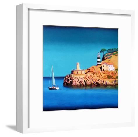 Port Soller 2-Paul Powis-Framed Art Print