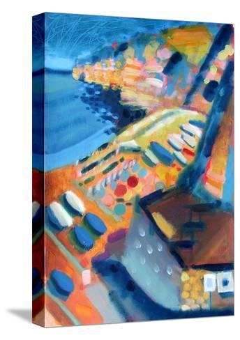 Coast-Sara Hayward-Stretched Canvas Print