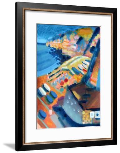 Coast-Sara Hayward-Framed Art Print