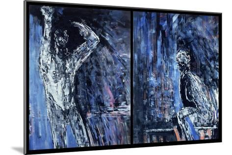 Naked Man and Naked Woman, 1990-Stephen Finer-Mounted Giclee Print