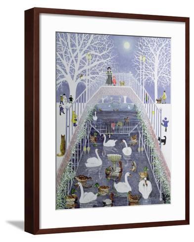 A Walk in the Park-Pat Scott-Framed Art Print