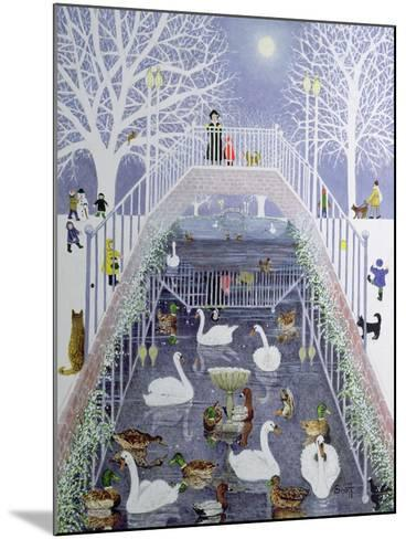 A Walk in the Park-Pat Scott-Mounted Giclee Print