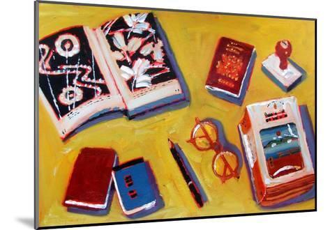 Glasses and Pencil-Sara Hayward-Mounted Giclee Print