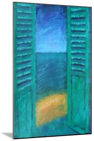 Green Shutters-Sara Hayward-Mounted Giclee Print
