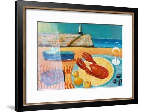 Lobster-Sara Hayward-Framed Art Print