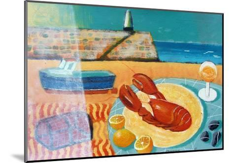 Lobster-Sara Hayward-Mounted Giclee Print