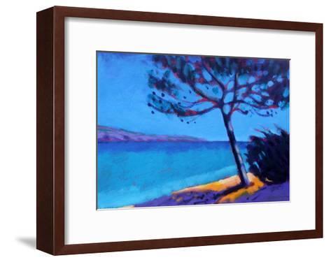 Pine Trees-Sara Hayward-Framed Art Print