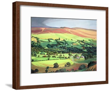 Welsh Valley-Anna Teasdale-Framed Art Print