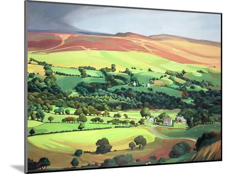 Welsh Valley-Anna Teasdale-Mounted Giclee Print
