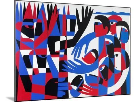 Quaker Peace Testimony, 1987-Ron Waddams-Mounted Giclee Print