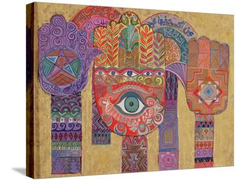 Protective Amulets, 1992-Laila Shawa-Stretched Canvas Print
