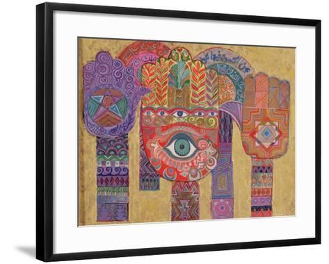Protective Amulets, 1992-Laila Shawa-Framed Art Print