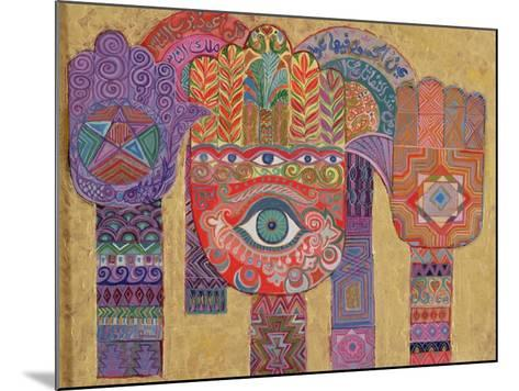 Protective Amulets, 1992-Laila Shawa-Mounted Giclee Print