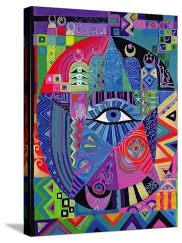 Eye of Destiny, 1992-Laila Shawa-Stretched Canvas Print