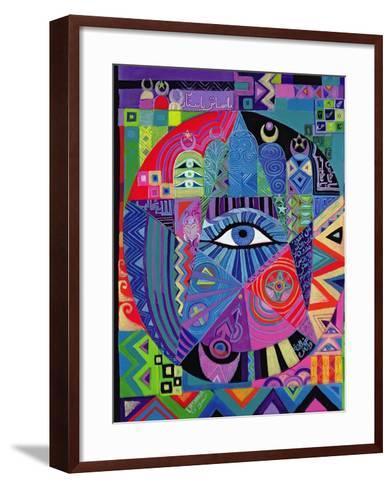Eye of Destiny, 1992-Laila Shawa-Framed Art Print