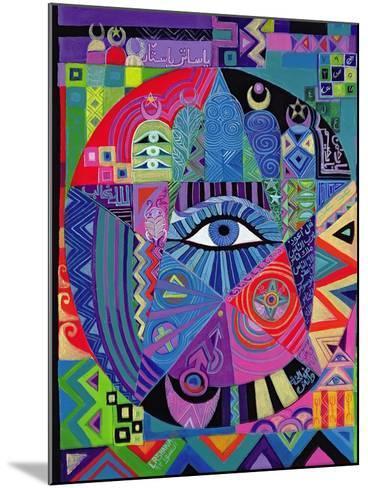 Eye of Destiny, 1992-Laila Shawa-Mounted Giclee Print