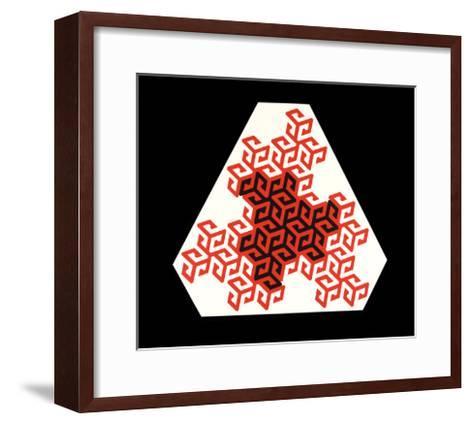 Mandala, 1986-Peter McClure-Framed Art Print