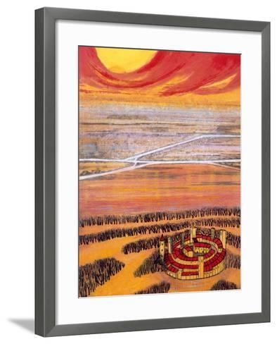 The Last Town, 2006-Silvia Pastore-Framed Art Print
