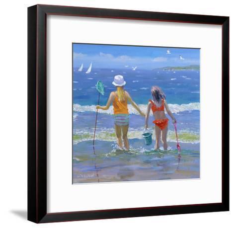 Gone Fishing-William Ireland-Framed Art Print