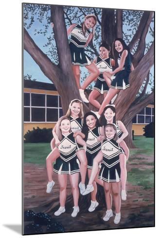 Jesuit Cheerleaders in a Tree, 2002-Joe Heaps Nelson-Mounted Giclee Print