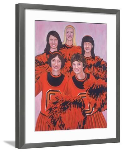 Oregon State Cheerleaders, 2002-Joe Heaps Nelson-Framed Art Print