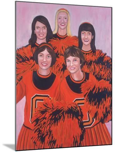 Oregon State Cheerleaders, 2002-Joe Heaps Nelson-Mounted Giclee Print