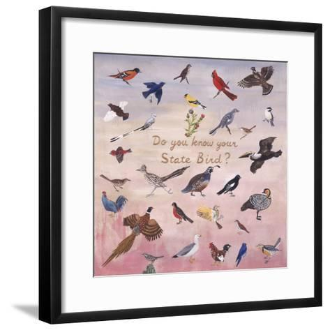 Do You Know Your State Bird?, 1996-Joe Heaps Nelson-Framed Art Print