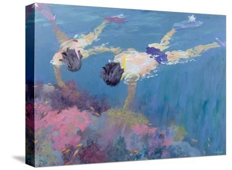 Coral II-William Ireland-Stretched Canvas Print