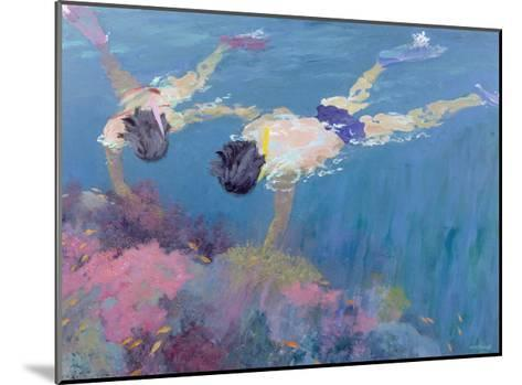 Coral II-William Ireland-Mounted Giclee Print