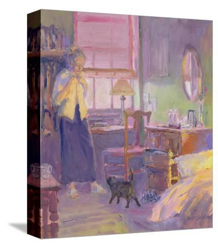 Morning Visitor-William Ireland-Stretched Canvas Print