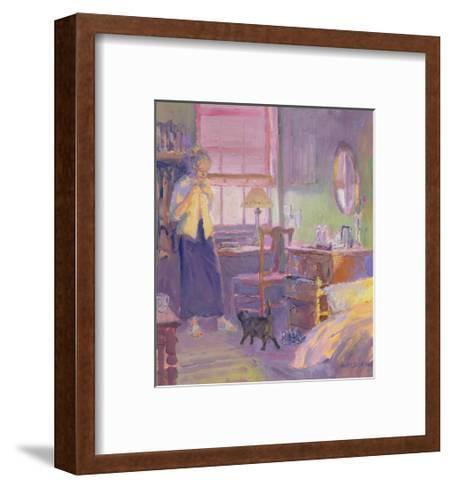 Morning Visitor-William Ireland-Framed Art Print