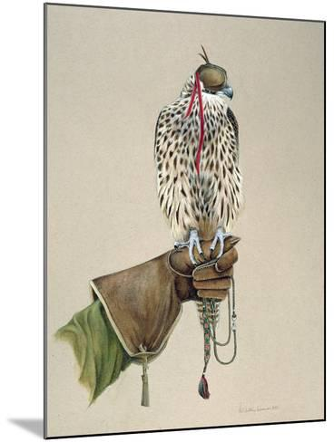 Saker on a Falconer's Wrist, 1981-Mary Clare Critchley-Salmonson-Mounted Giclee Print