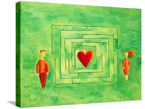 Love Maze, 2004-Julie Nicholls-Stretched Canvas Print