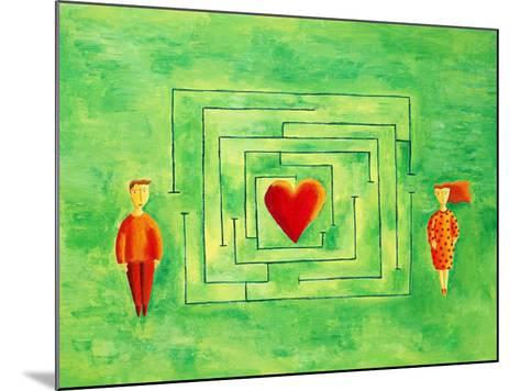 Love Maze, 2004-Julie Nicholls-Mounted Giclee Print