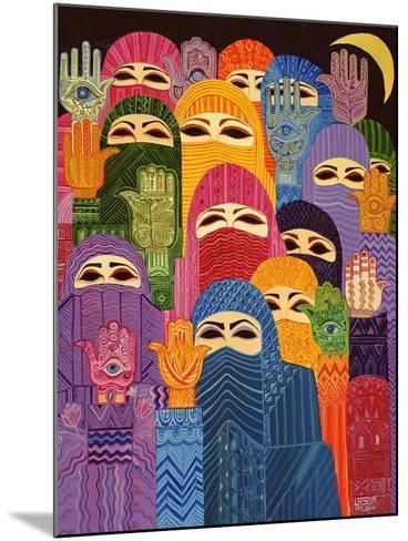 The Hands of Fatima, 1989-Laila Shawa-Mounted Giclee Print