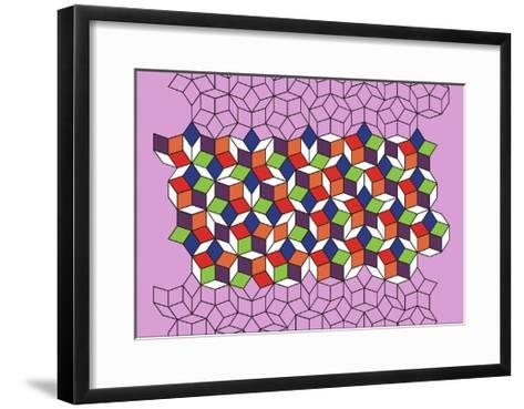 McClure's Matrix, 2007-Peter McClure-Framed Art Print