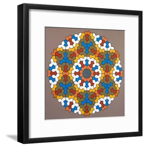 Modular Matrix, 2006-Peter McClure-Framed Art Print