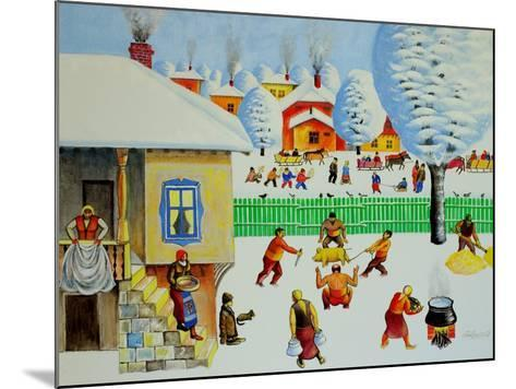 On Christmas Tree, 2006-Radi Nedelchev-Mounted Giclee Print
