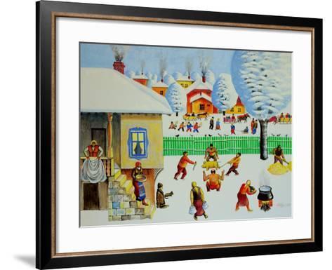 On Christmas Tree, 2006-Radi Nedelchev-Framed Art Print