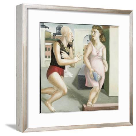 Rooftop Annunciation, 4, 2006-Caroline Jennings-Framed Art Print