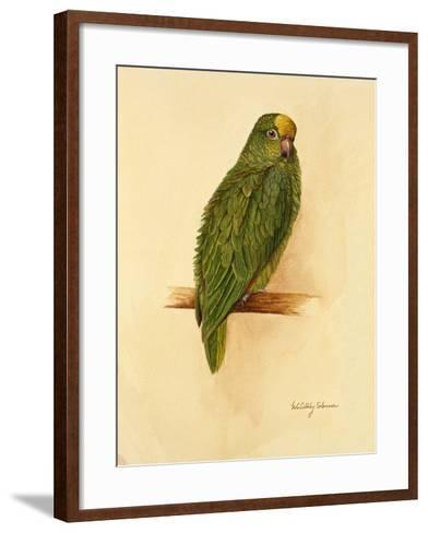 Amazon Green, 1984-Mary Clare Critchley-Salmonson-Framed Art Print