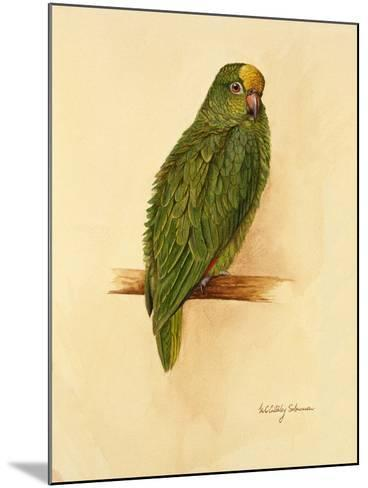 Amazon Green, 1984-Mary Clare Critchley-Salmonson-Mounted Giclee Print
