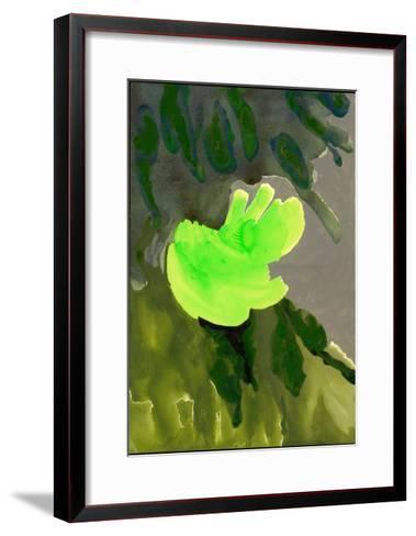 Kensington Gardens Series: Leaf Cascade, 2007-Izabella Godlewska de Aranda-Framed Art Print