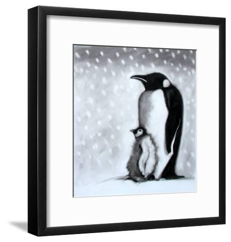 Father and Son-Paul Powis-Framed Art Print